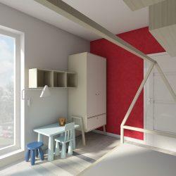 Projektowanie pokoi dziecięcych