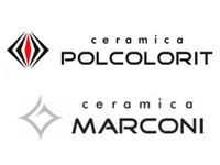 Polcolorit i Marconi Ceramica logo