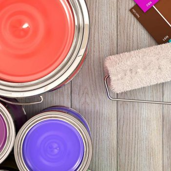 Farby, tapety, sztukateria i chemia budowlana